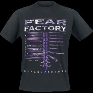 Fear Factory - Demanufacture - T-Shirt - black product image at Soundorabilia.com