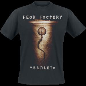 Fear Factory - Obsolete - T-Shirt - black product image at Soundorabilia.com