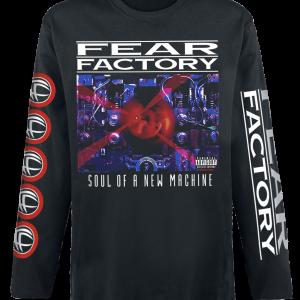 Fear Factory - Soul Of A New Machine - Longsleeve - black product image at Soundorabilia.com