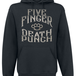 Five Finger Death Punch - 100 Proof - Hooded sweatshirt - black product image at Soundorabilia.com
