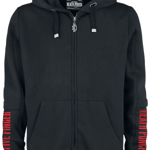 Five Finger Death Punch - EMP Signature Collection - Hooded zip - black product image at Soundorabilia.com