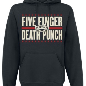 Five Finger Death Punch - Punchagram - Hooded sweatshirt - black product image at Soundorabilia.com