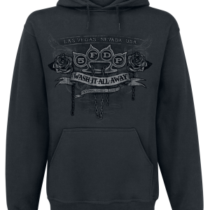 Five Finger Death Punch - Wash It All Away - Hooded sweatshirt - black product image at Soundorabilia.com