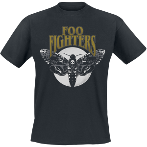 Foo Fighters - Hawk Moth - T-Shirt - black product image at Soundorabilia.com