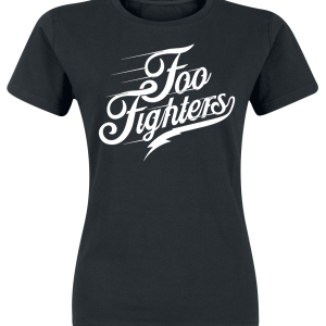 Foo Fighters - Logo - Girls shirt - black product image at Soundorabilia.com