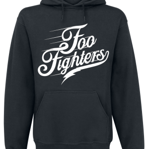 Foo Fighters - Logo - Hooded sweatshirt - black product image at Soundorabilia.com