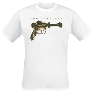 Foo Fighters - Ray Gun - T-Shirt - white product image at Soundorabilia.com