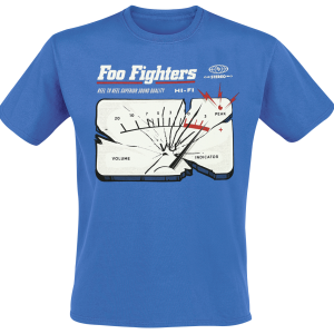 Foo Fighters - Reel To Reel - T-Shirt - royal blue product image at Soundorabilia.com