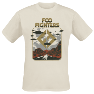 Foo Fighters - Roswell - T-Shirt - beige product image at Soundorabilia.com