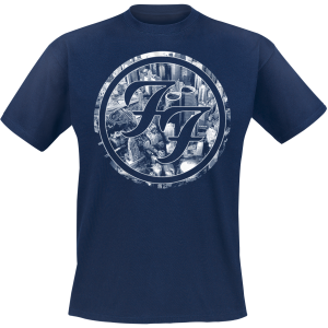 Foo Fighters - Sonic Highways - City Circles - T-Shirt - dark blue product image at Soundorabilia.com