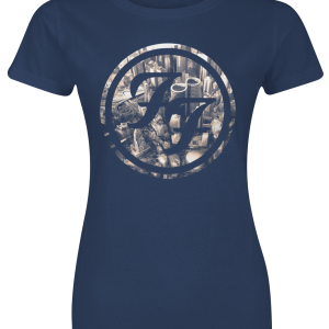 Foo Fighters - Sonic highways - Girls shirt - navy product image at Soundorabilia.com