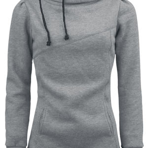 Forplay - Smart Hoodie - Girls hooded sweatshirt - grey product image at Soundorabilia.com