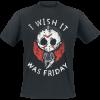 Friday the 13th - Chibi Jason - T-Shirt - black product image at Soundorabilia.com