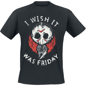 Friday the 13th - Chibi Jason - T-Shirt - black product image at Soundorabilia.com