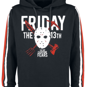 Friday the 13th - Jason - Hooded sweatshirt - black product image at Soundorabilia.com