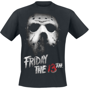 Friday the 13th - Mask - T-Shirt - black product image at Soundorabilia.com