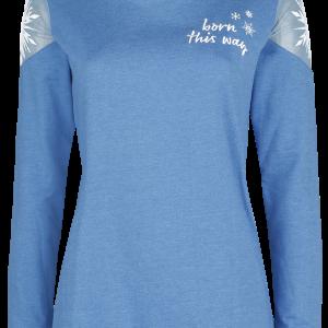 Frozen - Born this way - Girls sweatshirt - blue product image at Soundorabilia.com