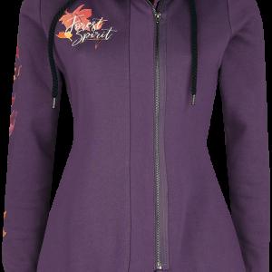 Frozen - My Destiny's Calling - Girls hooded zip - lilac product image at Soundorabilia.com