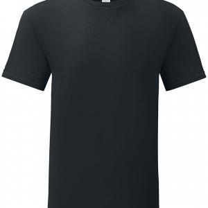 Fruit Of The Loom - Iconic T - T-Shirt - black product image at Soundorabilia.com