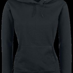 Fruit Of The Loom - Lady-Fit - Girls hooded sweatshirt - black product image at Soundorabilia.com