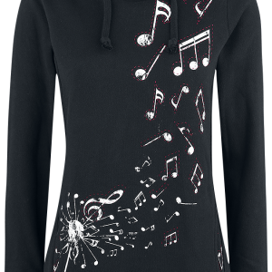 Full Volume by EMP - The Very Highest - Girls hooded sweatshirt - black product image at Soundorabilia.com