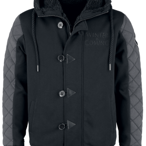 Game of Thrones - Winter Is Coming - Jacket - black-dark grey product image at Soundorabilia.com