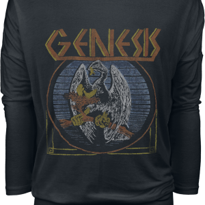 Genesis - Bird - Girls longsleeve - black product image at Soundorabilia.com