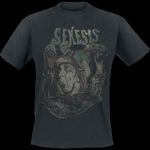 Genesis - Mad Hatter - T-Shirt - black product image at Soundorabilia.com
