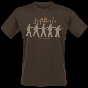 Genesis - The Way We Walk - T-Shirt - brown product image at Soundorabilia.com