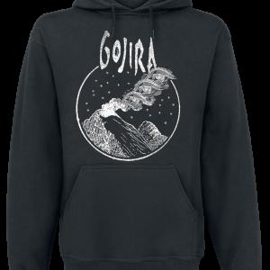 Gojira - Eye Cloud - Hooded sweatshirt - black product image at Soundorabilia.com