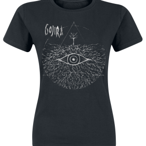 Gojira - Eye Root Pyramid - Girls shirt - black product image at Soundorabilia.com
