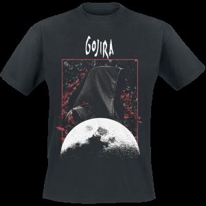 Gojira - Grim Moon - T-Shirt - black product image at Soundorabilia.com