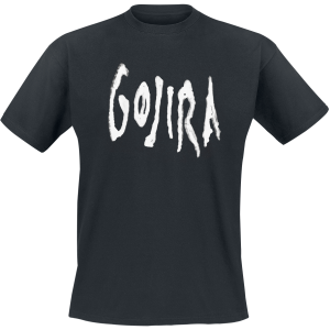 Gojira - Logo Distort - T-Shirt - black product image at Soundorabilia.com
