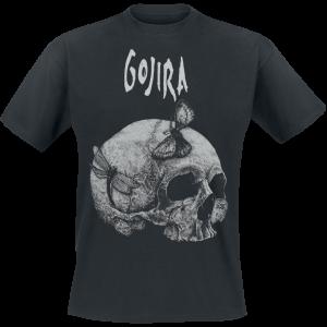 Gojira - Moth Skull - T-Shirt - black product image at Soundorabilia.com
