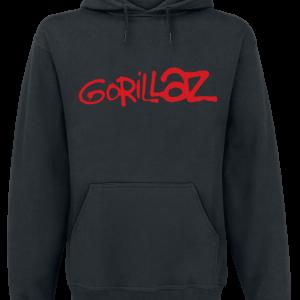 Gorillaz - Logo - Hooded sweatshirt - black product image at Soundorabilia.com