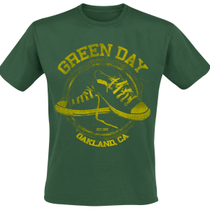 Green Day - All Star - T-Shirt - green product image at Soundorabilia.com
