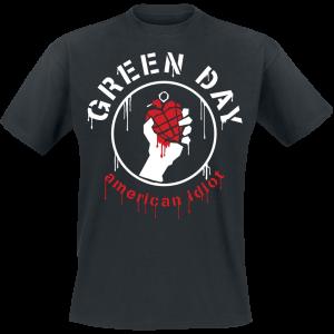 Green Day - Drip American - T-Shirt - black product image at Soundorabilia.com