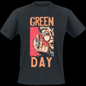Green Day - Geek Stink Breath - T-Shirt - black product image at Soundorabilia.com