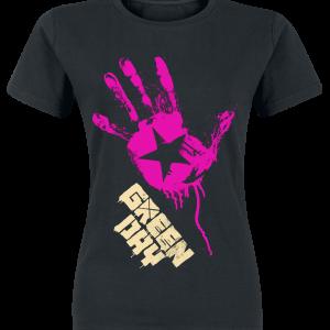 Green Day - Star Hand - Girls shirt - black product image at Soundorabilia.com