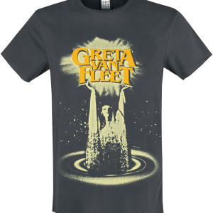 Greta Van Fleet - Amplified Collection - Hands In The Air - T-Shirt - charcoal product image at Soundorabilia.com