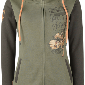 Guardians Of The Galaxy - Groot - Let's rock this - Girls hooded sweatshirt - multicolour product image at Soundorabilia.com