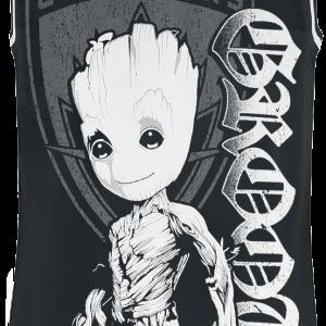 Guardians Of The Galaxy - Groot Shield - Tanktop - black product image at Soundorabilia.com