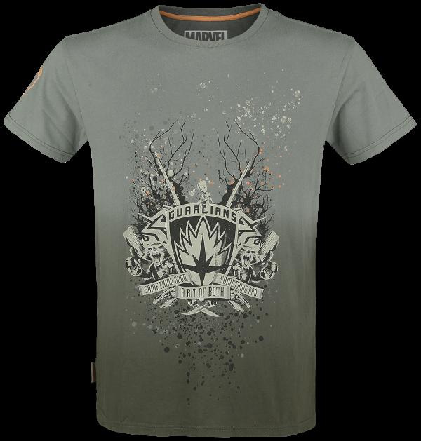 Guardians Of The Galaxy - Something good - something bad - T-Shirt - khaki product image at Soundorabilia.com
