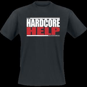 Hardcore Help Foundation - Classic Logo - T-Shirt - black product image at Soundorabilia.com
