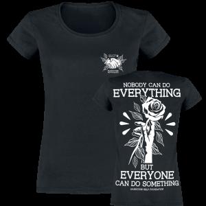 Hardcore Help Foundation - Do Something! - Girls shirt - black product image at Soundorabilia.com