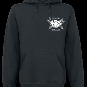 Hardcore Help Foundation - Do Something! - Hooded sweatshirt - black product image at Soundorabilia.com