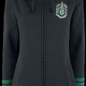 Harry Potter - Slytherin - Girls hooded zip - black product image at Soundorabilia.com