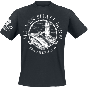 Heaven Shall Burn - Sea Shepherd Cooperation - For The Oceans - T-Shirt - black product image at Soundorabilia.com