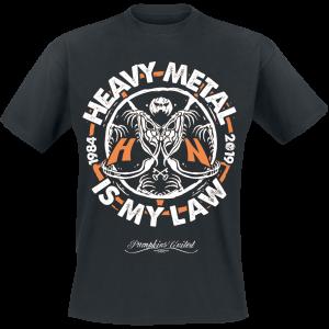 Helloween - Heavy Metal Is My Law - T-Shirt - black product image at Soundorabilia.com