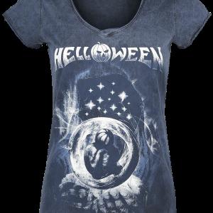 Helloween - Pumkins Embrion - Girls shirt - blue product image at Soundorabilia.com